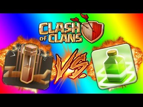 Clash of Clans Huong dan su dung binh EarthQuake (dong dat) trong War Clan