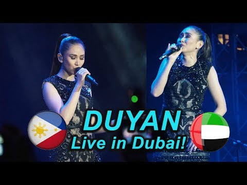 Sarah Geronimo - Duyan (clear) This 15 Me in Dubai (September 20, 2018)