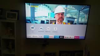 Samsung UHD 43 RU7100 4K 108 ekran 2019 model televizyon video 3