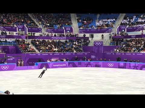 Михаил Коляда на Олимпийских играх в Пхенчхан