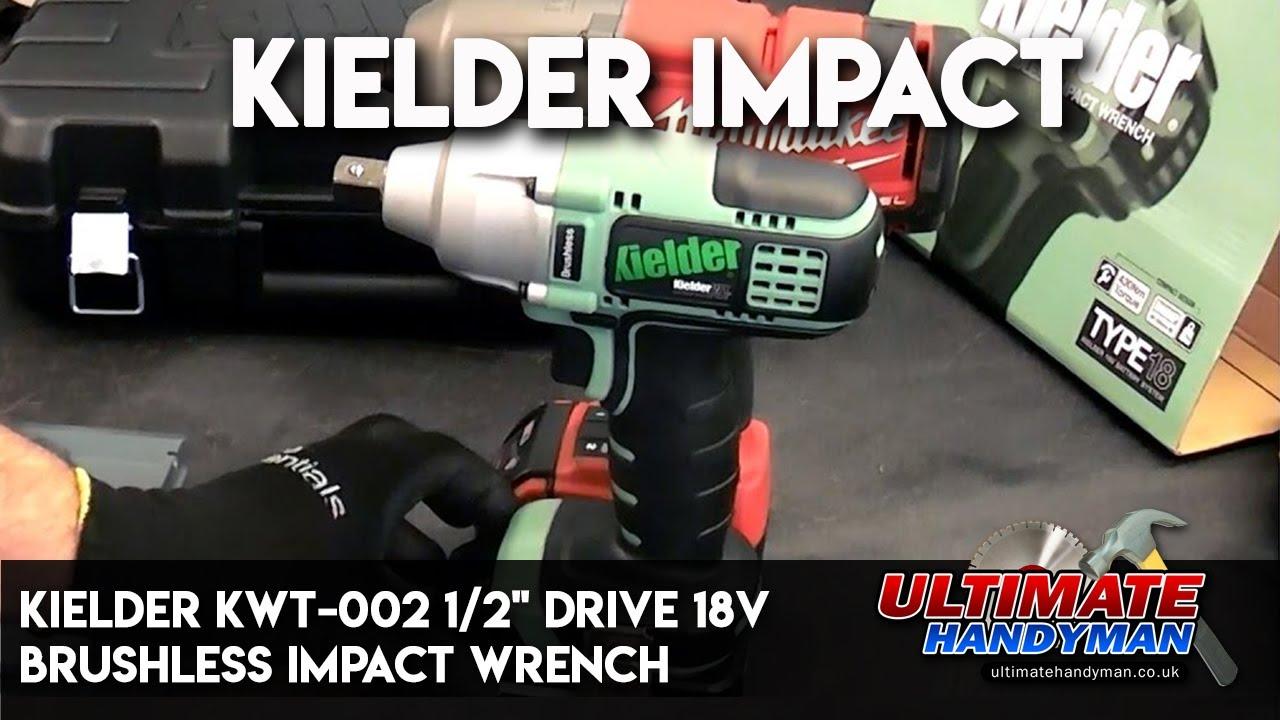 Kielder Kwt 002 ½ Drive 18v Brushless Impact Wrench