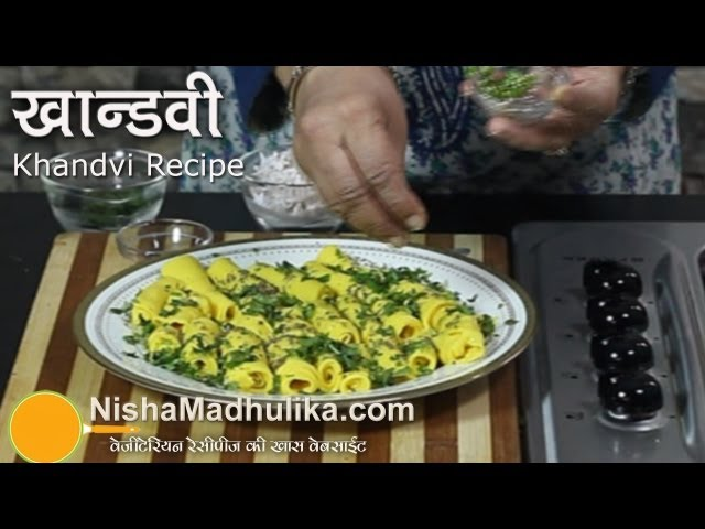 Khandvi Recipe video Travel Video