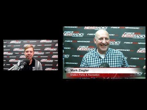 Mark Ziegler from Shelton Parks & Recreation on Daybreak! 10/06/16
