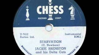 "Jackie Brenston and His Delta Cats""Starvation"" 1953 Chess1532"