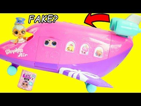 LOL Surprise Dolls Custom Jet Get Married in Ooh La La Store | Toy Egg Videos