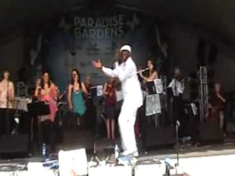 paradise gardens gig charanga del norte Barbican Blaze festival