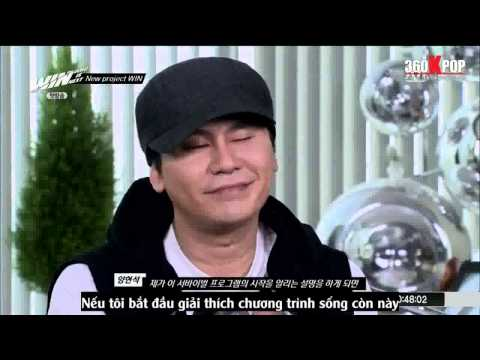 [Vietsub] WIN: Who Is Next - Ep. 01 Part 1/3 {by 360Kpop.com} [HD 720P]