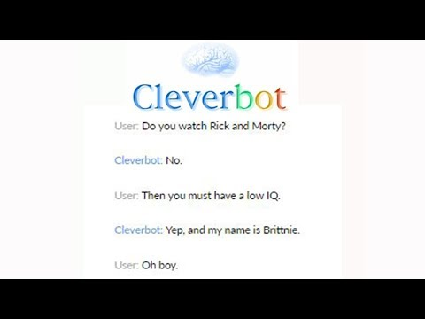 Messing With Cleverbot