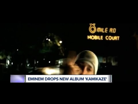 Eminem Drops Surprise Album 'Kamikaze' At Midnight
