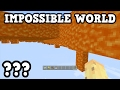 Minecraft Xbox 360   THE IMPOSSIBLE WORLD