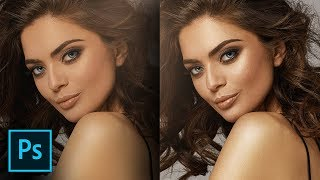 Add Shine & Glamour to Your Portraits in Photoshop