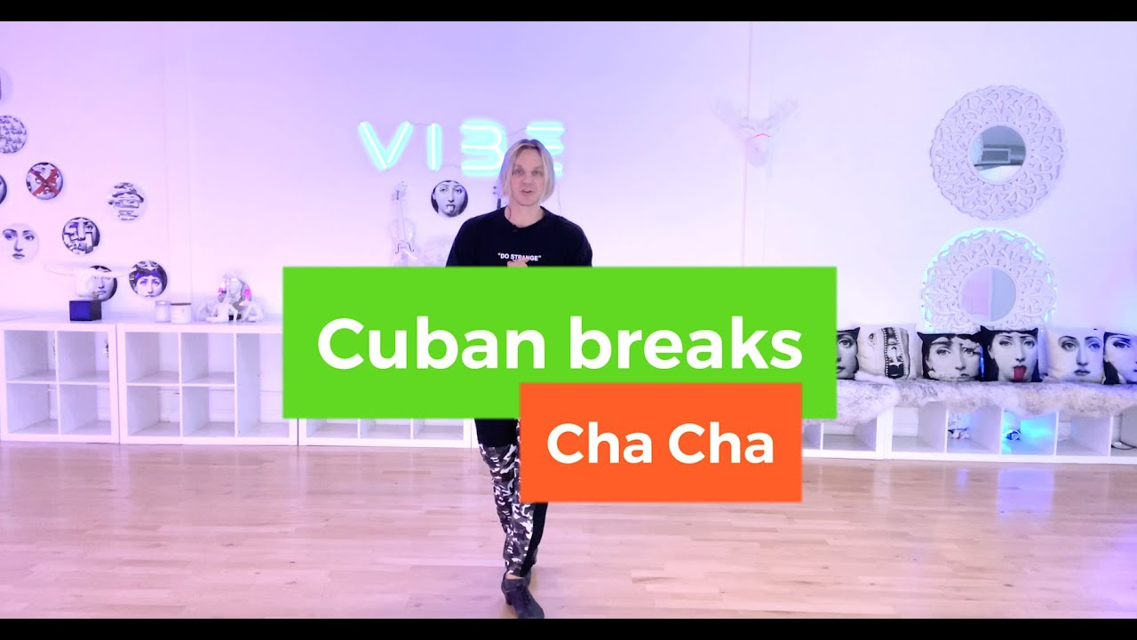 Cha Cha - Cuban Break Technique | Ballroom Dance Tutorial | Online Courses by Oleg Astakhov