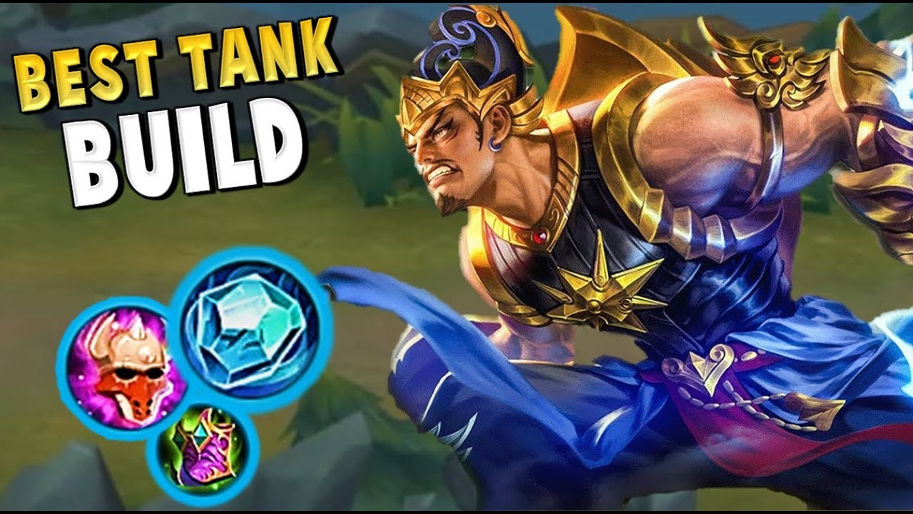 gatotkaca is the best tank in mobile legends ! pro build & gameplay