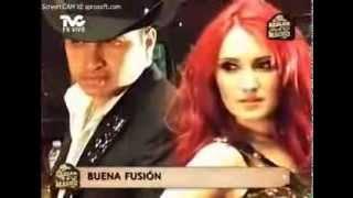 Dulce María graba video junto a Julion Alvarez (hablar a lo macho)
