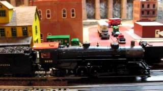 ho scale model railroad mth prr 2 8 2 usra light mikado steam locomotive with proto sound 3 0
