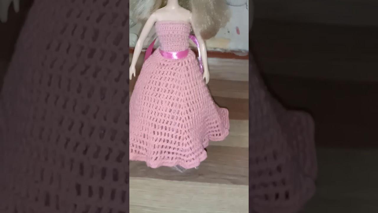 Кукла в бальном платье - YouTube