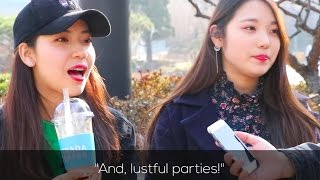What Koreans Think Of American College Life