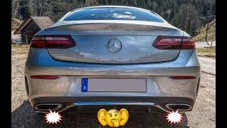 Mercedes Soundcheck: 4-Zylinder Sportabgasanlage