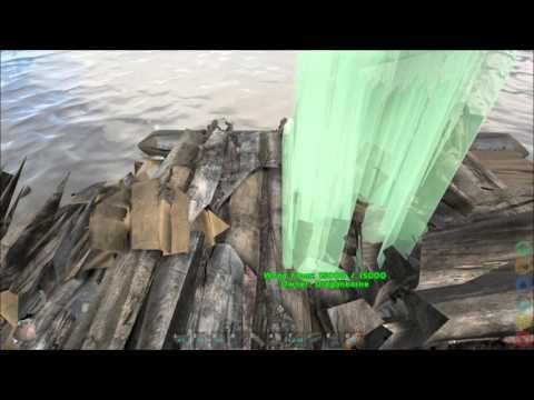 Ark: Survival Evolved ➤ Advanced Raft|Platform Building Tricks