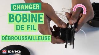Comment changer la bobine de fil de votre débroussailleuse ?