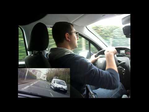 Savoir franchir une intersection avec peu de visibilité (Permis de conduire étape 2) leçon 2.