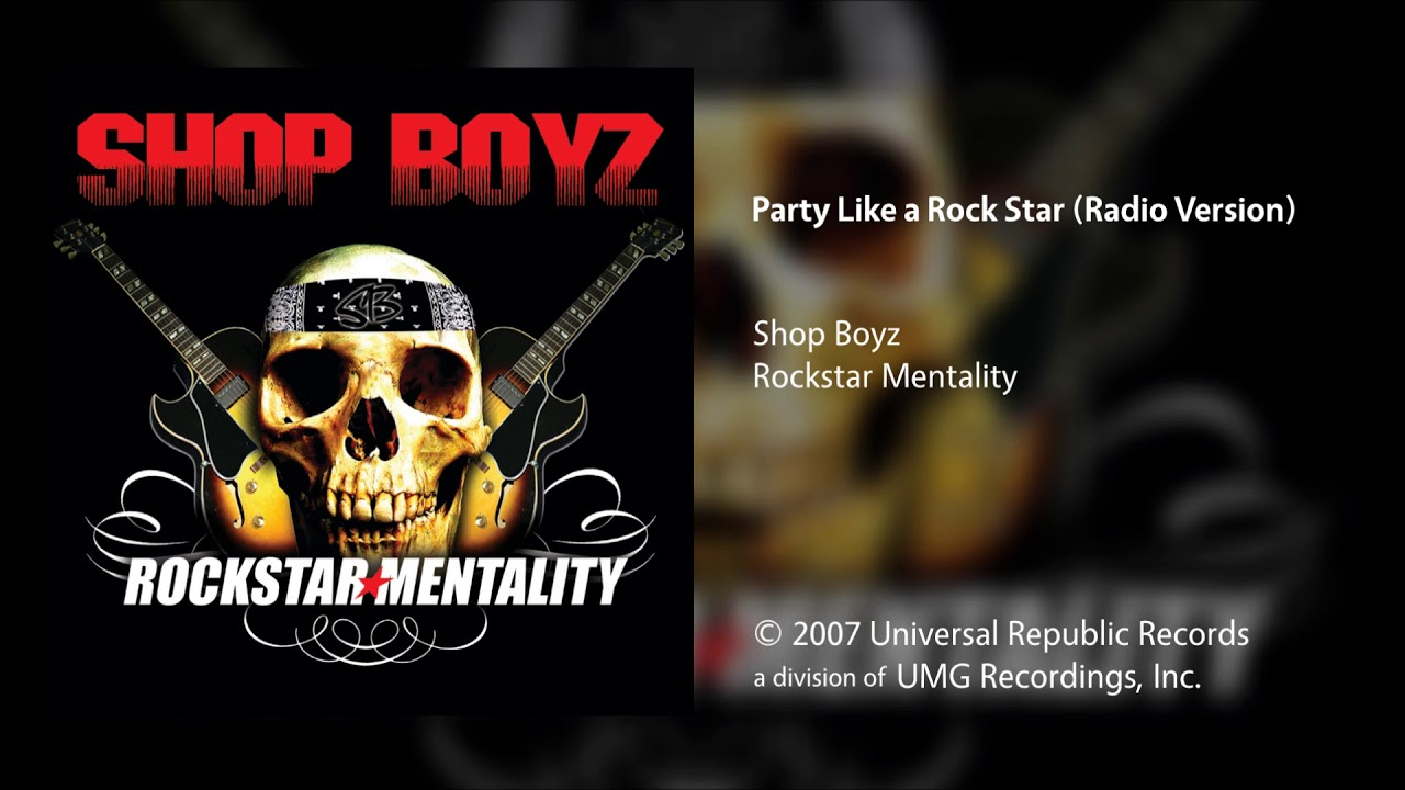 Shop Boyz - Party Like a Rock Star (Radio Version)