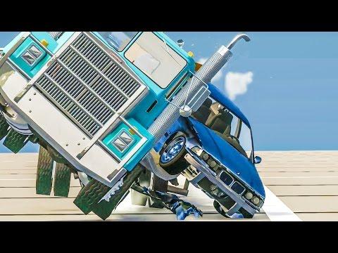 EXTREME CRASHES #29 - BeamNG Drive