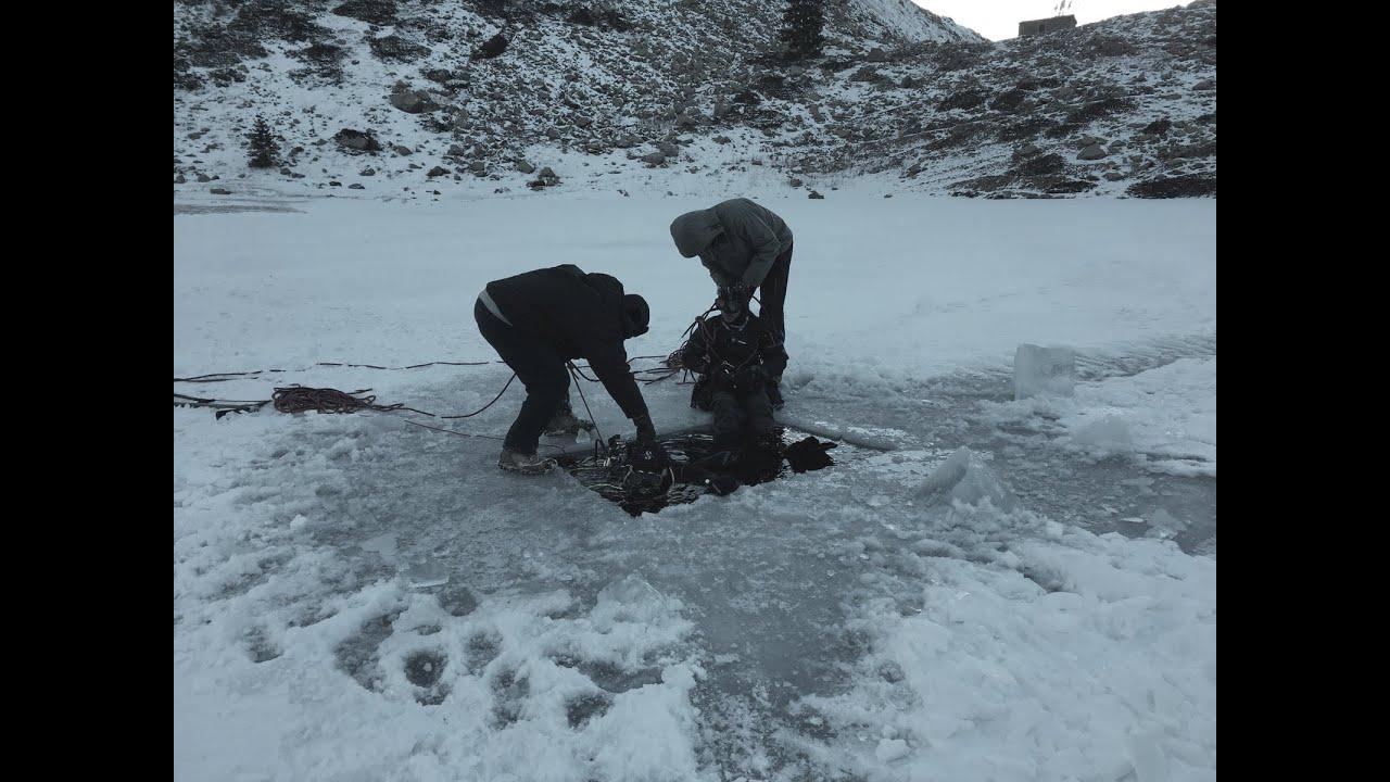 Immersione sotto il ghiaccio - Lago di San Bernolfo - Bagni di ...