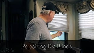 Repairing RV Blinds
