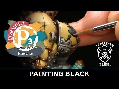 Formula P3 Presents: Painting Black