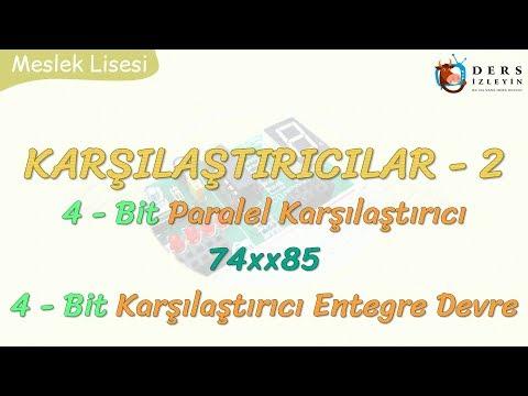 KARŞILAŞTIRICILAR - 2 4 BİT PARALEL KARŞILAŞTIRICI