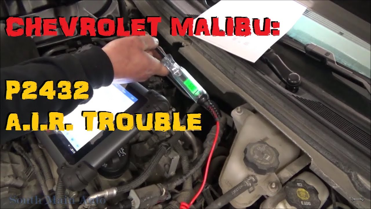 2003 Ion Fuse Box Chevrolet Malibu P2432 Secondary Air Injection System