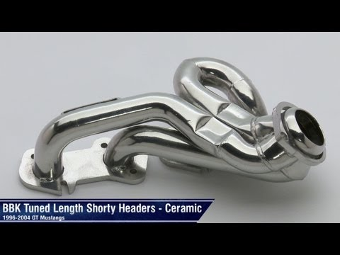 Mustang BBK Ceramic and Chrome Tuned Length Shorty Headers (96-04 GT) Review
