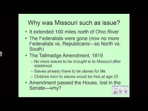 Politics in the 1820s