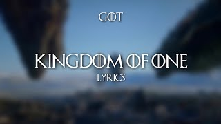 "Maren Morris - Kingdom of One (Lyrics)  [From ""For The Throne"" Soundtrack]"