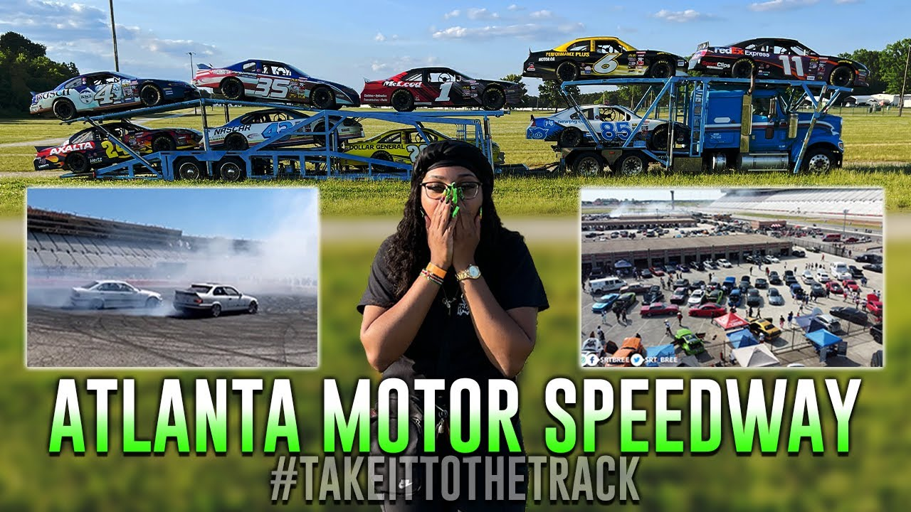 I raced my REDEYE on a NASCAR track 😳 [this was EPIC]