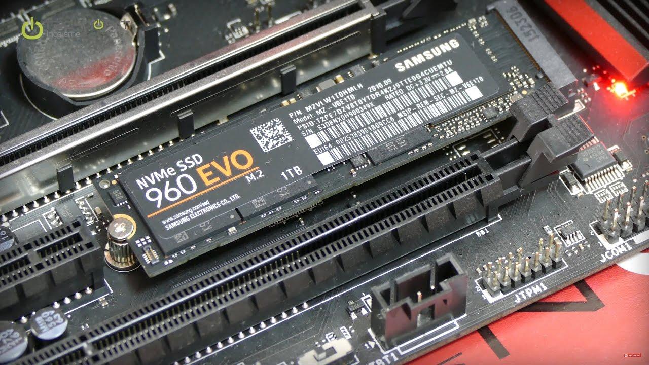samsung 960 evo 250gb. samsung 960 evo m.2 ssd İncelemesi evo 250gb 6