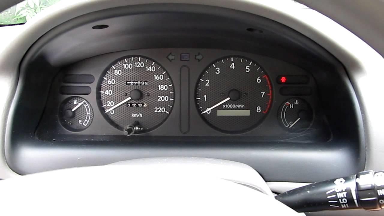 Toyota Corolla E11 1 3l 1998 Luna Start Up Youtube