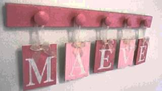 Wood Letters For Baby Room