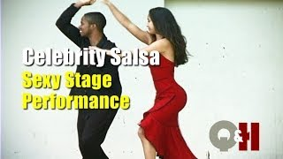 Smoking Hot Celebrity Salsa Free-style Dance Performance!