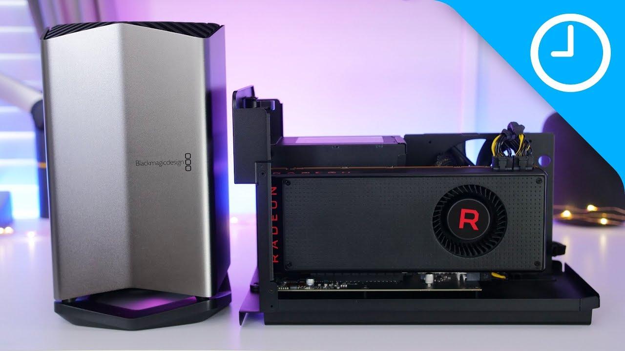 Compared Blackmagic Egpu Vs Razer Core X Performance Youtube