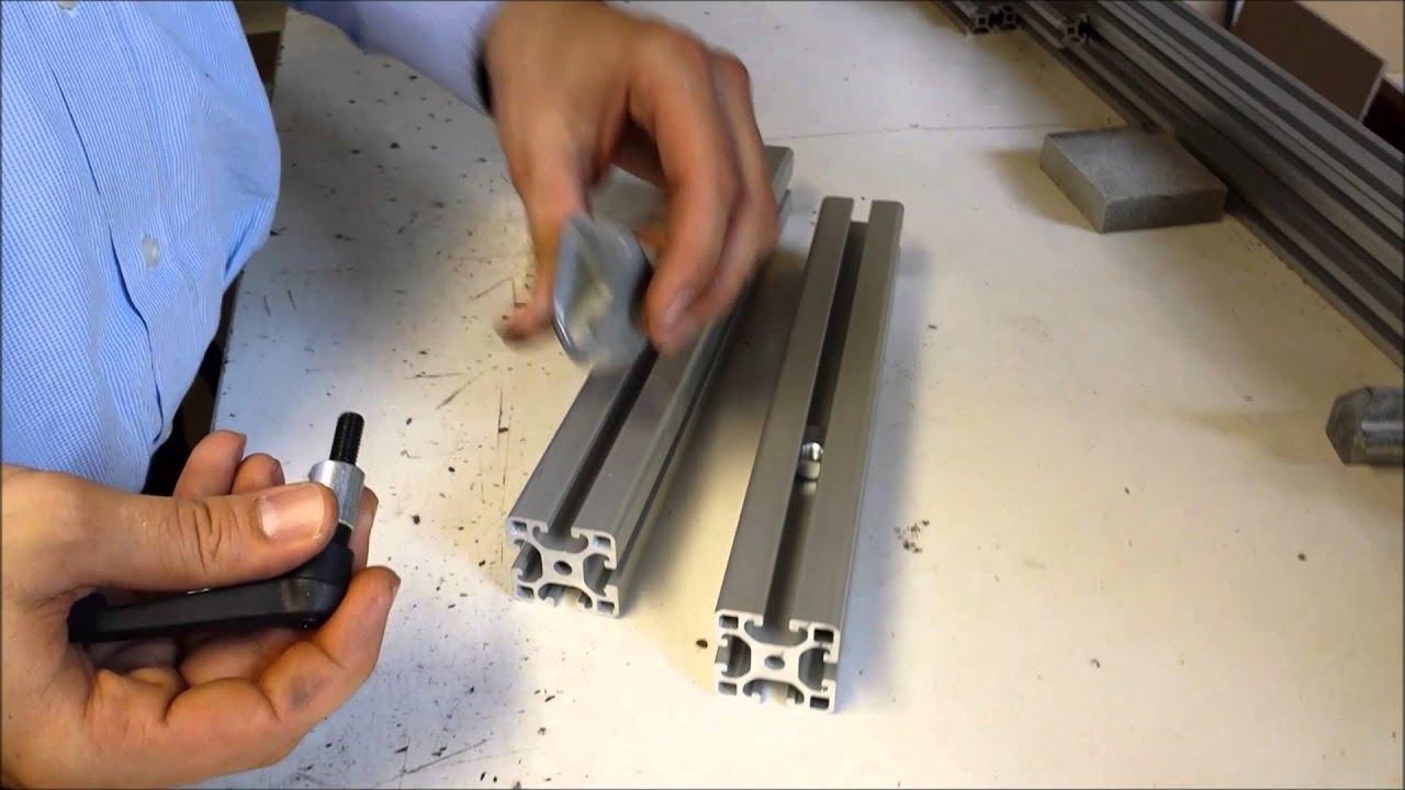 100x Innenwinkel Nut 8 Aluprofile Profilverbinder I-TypKINETIK MSystem®