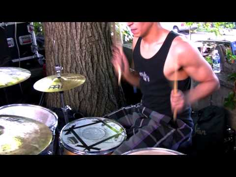 "Angel Dagnesses - Animals & Architects - ""Salem"" - [Live Drum Cam]"
