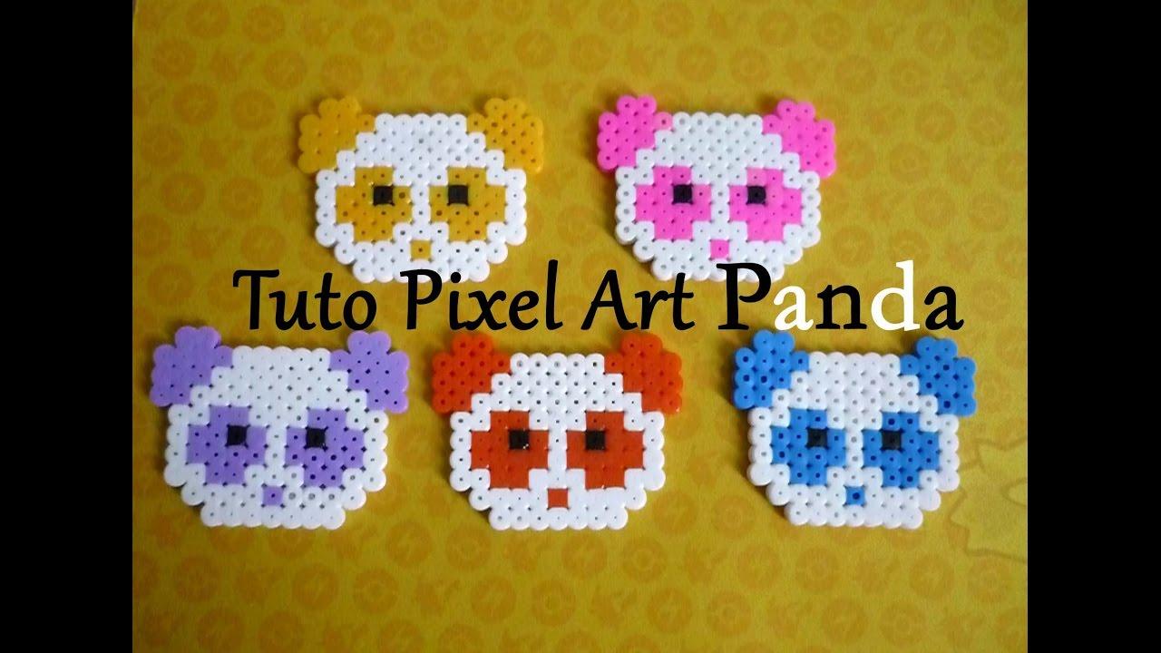 Tuto Pixel Art N7 Panda Kawaii