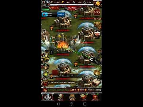 Clash of kings - Kingdom Conquest - K1305 VS MIX