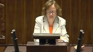 [73/395] Krystyna Gurbiel: Szanowny Panie Marszałku! Wysoka Izbo! Pani Poseł! Rzeczywiście, tak..