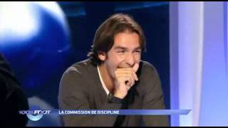 100% Foot - M6 - La Commission De Discipline - Julien Cazarre - Robert Pires. - Youtube.flv
