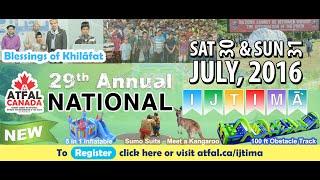 Day 1 - 2016 Annual National Ijtima - Majlis Atfalul Ahmadiyya Canada
