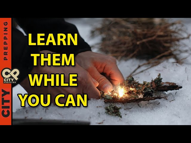 Top 8 survival skills you can easily learn now (and are inexpensive)