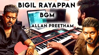 Bigil - Rayappan BGM   Thalapathy Vijay   Allan Preetham.mp3
